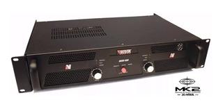 Amplificador Potencia Novik Novo 900 Watts Rms En Cuotas