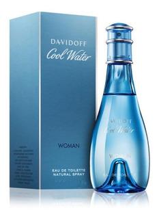 Perfume Importado Mujer Davidoff Cool Water Edt X 50ml