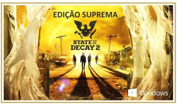 State Of Decay 2 Edition Suprema Pc - Original Digital