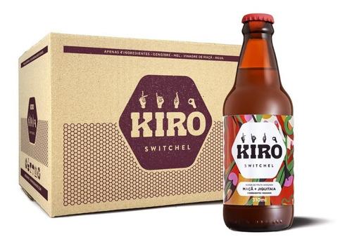Kiro Switchel - 12un. (maça + Jiquitaia) Vegano