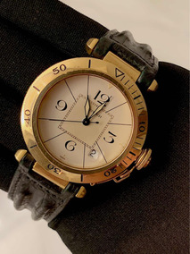 Cartier Pasha De Ouro Amarelo 38mm , Promocao , Na Caixa!
