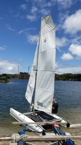 Velero Catamaran     Marlin Cat ,   Nuevo A Estrenar,