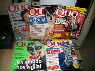 Pack De 5 Revistas De Quo Varios Numeros