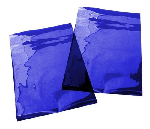 Filtro Gelatina Azul 25x30cm - 0,075mm Novembro Azul