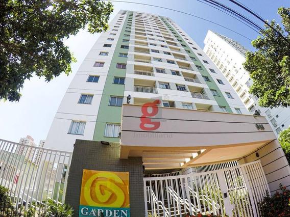 Ed. Garden Araucária - Apartamento Com 3 Dormitórios Para Alugar, 69 M² Por R$ 1.100,00/mês - Aurora - Londrina/pr - Ap0374