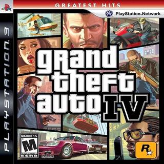 Grand Theft Auto 4 Ps3 Original Entrega Inmediata