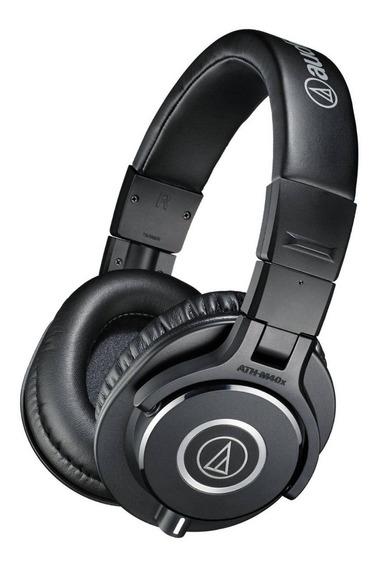Fone De Ouvido Audio Technica M40x Ath- M40x Monitor Studio