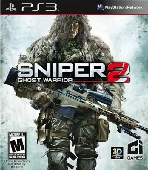 Sniper Ghosts Warriors 2 Ps3 Playstation 3 Jogo Comprar
