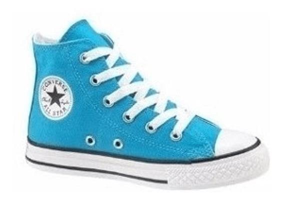 Zapatilla Converse All Star Hi Aqua