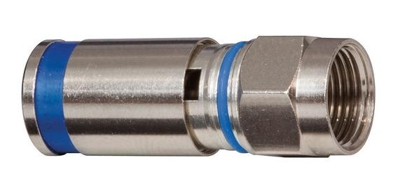 Kit 10 Conector Pressão Rg6 + 10 Conector Rg59