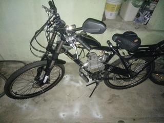 Bicicleta Motorizada Mtb Sport 2t Kit Motor 80cc Semi Novo