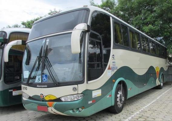 Ônibus Marcopolo 1200 G6 Volks 18 310 Único Dono Fretamentos