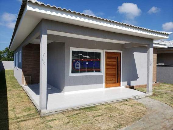 Casa Em Condomínio-à Venda-pindobas-maricá - Macn30103