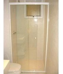 Box Para Banheiro Em Vidro Cristal Incolor Temperado 08 Mm