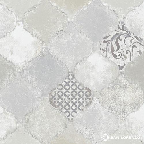 Imagen 1 de 7 de Piso Ceramico 1cal 45,3x45,3 Unique Mix Gris San Lorenzo