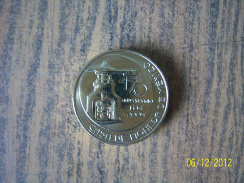 Imagen 1 de 2 de Conmemorativa 470 Años Casa De Moneda De México