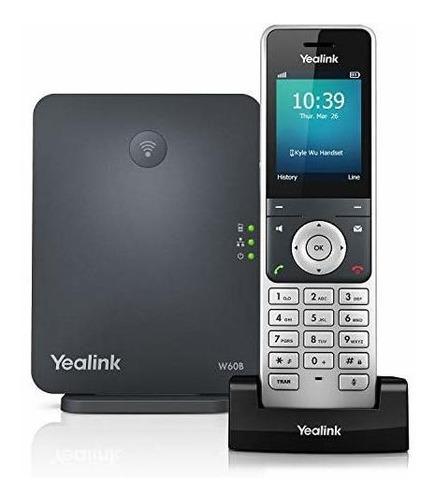 Yealink W60p, Teléfono Inalámbrico Dect Sobre Ip Y Estación