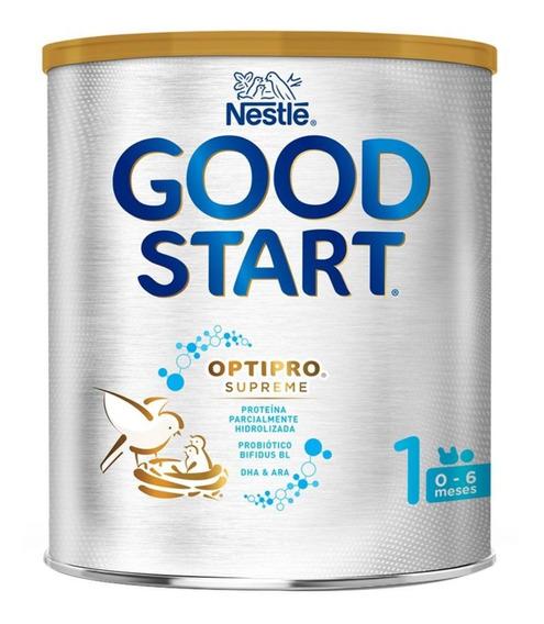Fórmula para lactantes en polvo Nestlé Good Start Optipro Supreme 1 en lata de 400g