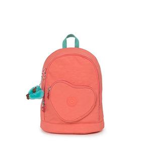 Mochila Pequena Original Heart Backpack Kipling Novas Cores