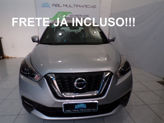 Nissan Kicks 1.6 16v Flexstart Sl 4p Xtronic 19/20