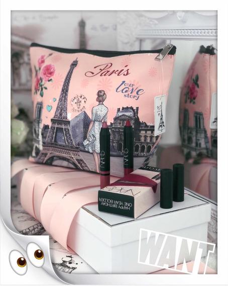 Necessite Paris Rosê & 2 Nars Lápis Labial