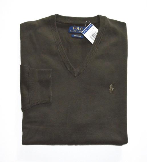 Suéter Polo Ralph Lauren Tamanho Gg / Xl Masculino Original