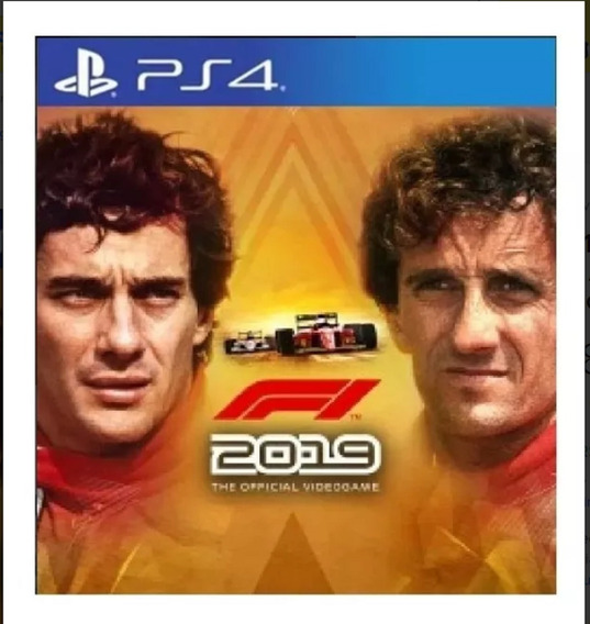 F1 2019 Senna E Prost Ps4 - Leia A Descriçao Do Anucio