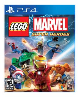 Juego Ps4 Lego Marvel Super Heroes