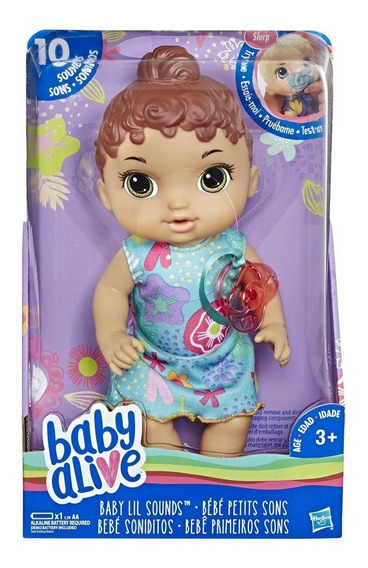 Boneca Baby Alive Com Sons - Escolha O Modelo