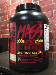 Proteína Mutant Mass De 7 Libras Para Aumentar Masa Muscular