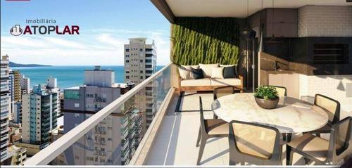 Apartamento Com 3 Dormitórios Sendo 3 Suítes À Venda, 160 M² - Meia Praia - Itapema/sc - Ap1303