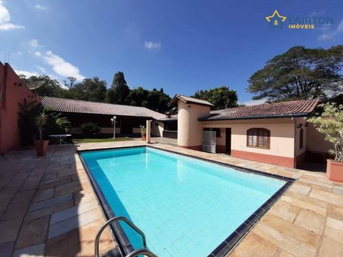 Chácara Residencial À Venda, 1000 M² Por R$ 700 Mil- Atibaia/sp - Ch1324