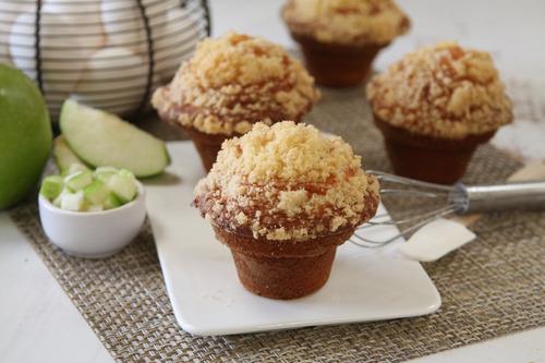Muffin De Manzana X 6 Unidades