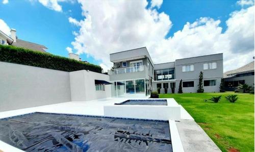 Casa Com 5 Dormitórios À Venda, 565 M² Por R$ 2.950.000 - Vila Santista - Atibaia/sp - Ca0799