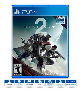 Destiny 2 Juego Físico Ps4 Nuevo Sellado Original