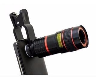 Super Lente Telescópica Para Celular Zoom 12x