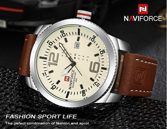 Relógio Naviforce 9063 De Mostruário Só R$110,00