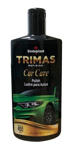 Auto Polish Trimas Car Care Lustre | 450 Ml