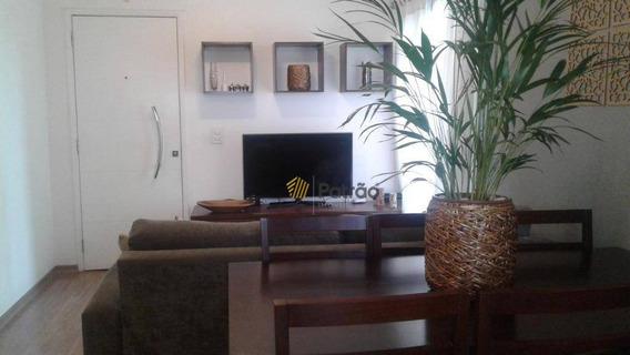 Apartamento Com 3 Dormitórios À Venda, 69 M² Por R$ 320.000 - Paulicéia - São Bernardo Do Campo/sp - Ap2525