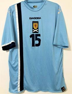 Camisa Escócia Usada Em Jogo 2006 Número 15