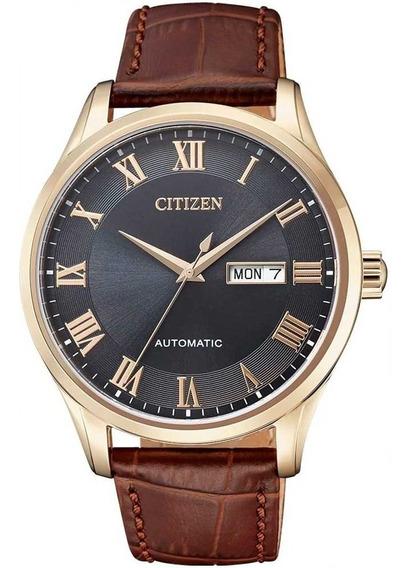 Relógio Citizen Masculino Automático Nh8363-14h / Tz20797p
