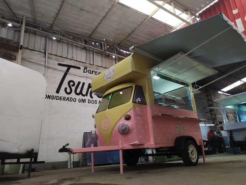 Trailler Kombi Food Truck Kombinha (sob Encomenda)