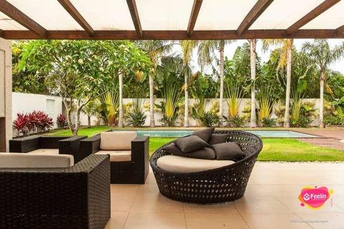 Imagem 1 de 30 de Casa Com 6 Dormitórios À Venda, 550 M² Por R$ 4.200.000,00 - Rio Tavares - Florianópolis/sc - Sc - Ca0141_feelin