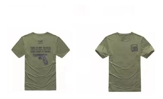 Camisa Playera Tactica Glock Militares Policias Envio Gratis