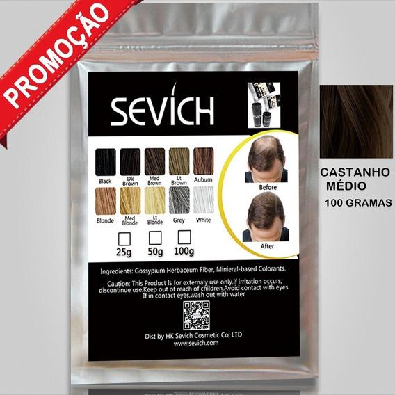 Sevich Hair 100 Gramas Fibras Capilar Para Calvície Toppik
