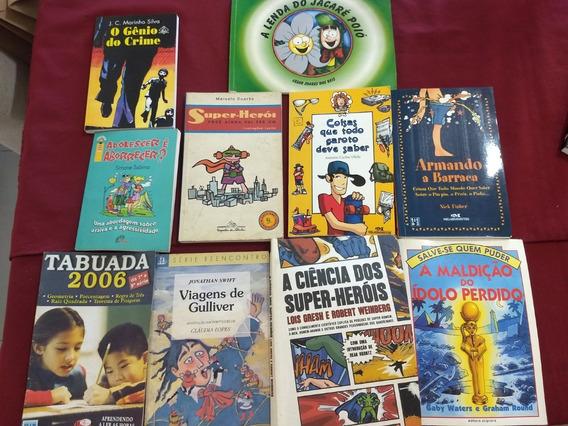10 Livros Infanto Juvenis Heróis Assuntos De Garotos Etc