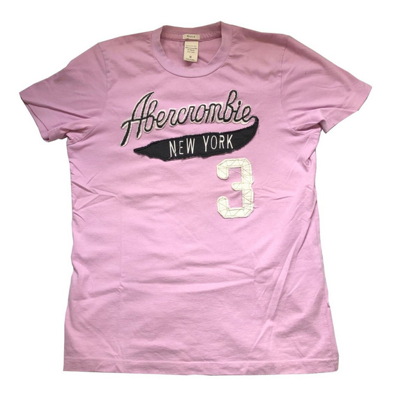 Remera Abercrombie New York 3 Original Impecable
