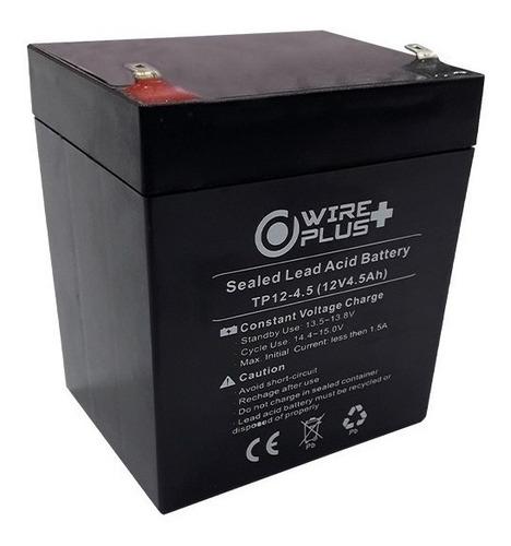 Imagen 1 de 2 de Bateria 12v 4.5ah Para Ups Pila Cerco Electrico 4.5a