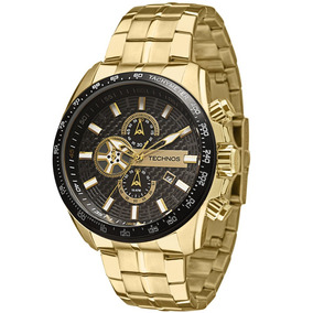 Relógio Technos Masculino Ts Carbon Analógico Os1aay/4p
