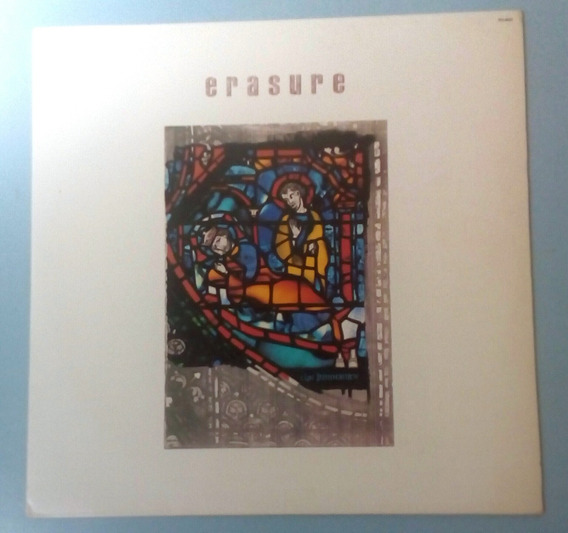 Lp Vinil Erasure The Innocents (album) Com Encarte 1988